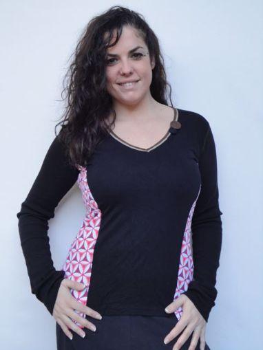Imagen de Blusa mujer primavera verano  botones