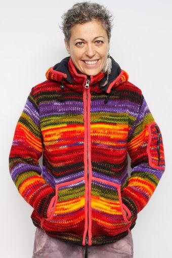 Imagen de Chaqueta de lana CV (multicolor 4)