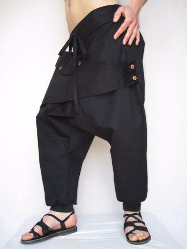 Imagen de Pantalón algodón unisex cruzado