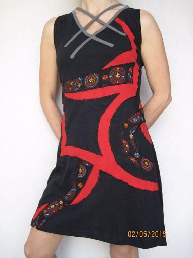 Imagen de Vestido étnico oriental multi trenzado
