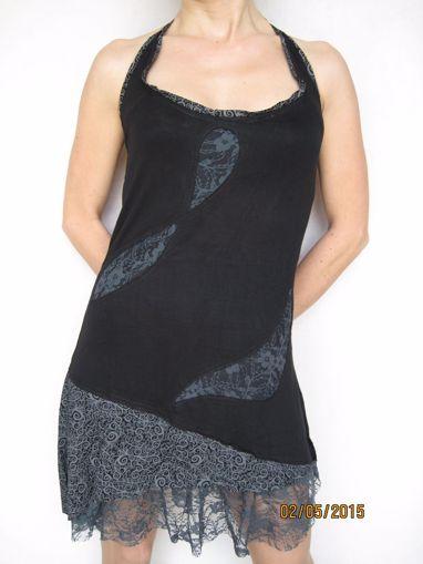 Imagen de Vestido tirantes transparencias (varios colores)