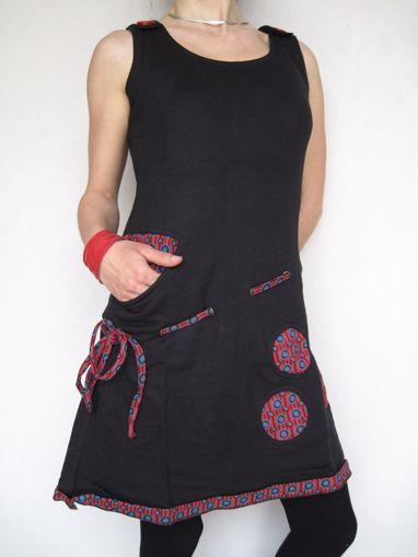 Imagen de Vestido otoño invierno tirantes botones
