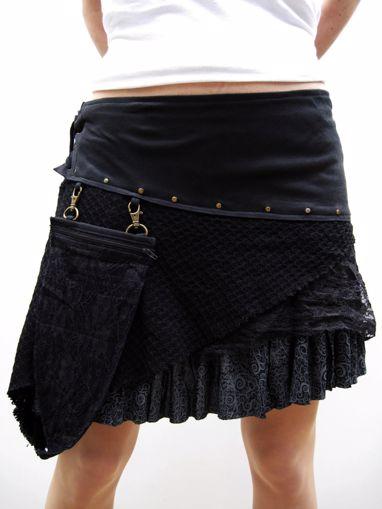 Imagen de Mini falda Carcaj negro