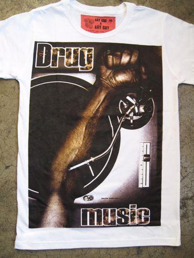 Imagen de Camiseta drug music