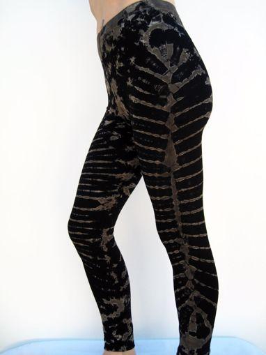 Imagen de Legging esqueleto negro