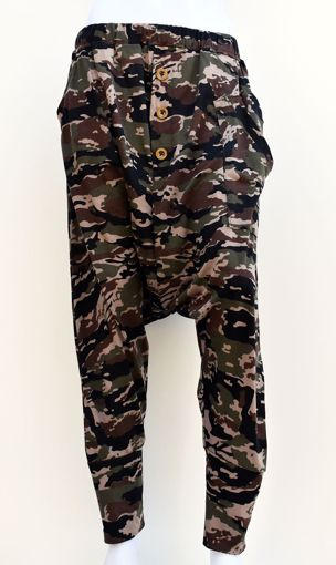 Imagen de Pantalón algodón estampado militar (varios modelos)