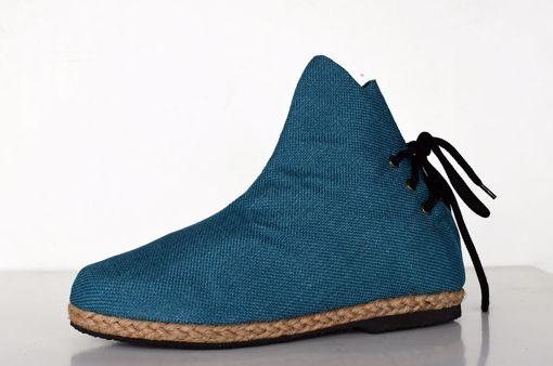 Imagen de Botín algodón azul