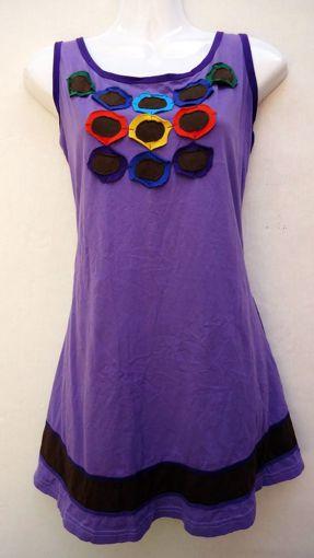 Imagen de Vestido verano informal bordado (varios colores))