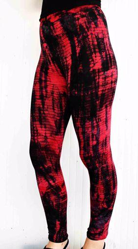 Imagen de Legging bambú rojo