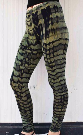 Imagen de Legging escamas verde