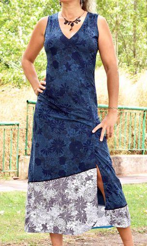 Imagen de Vestido social club azul