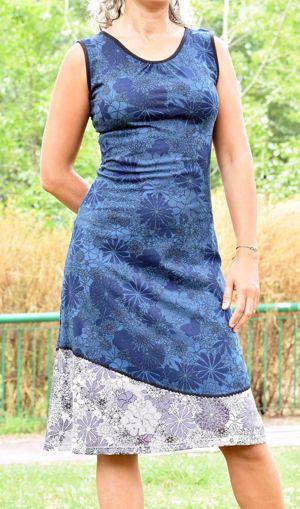 Imagen de Vestido wild beauty azul
