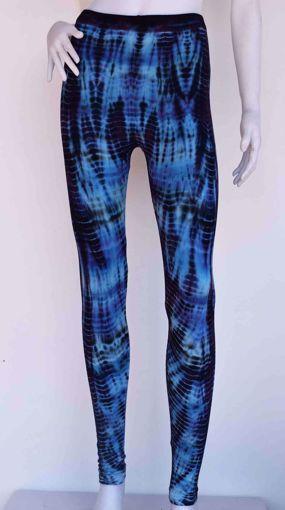 Imagen de Legging bambú azul
